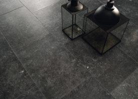 Blauwe steen keramische vloertegel verouderd