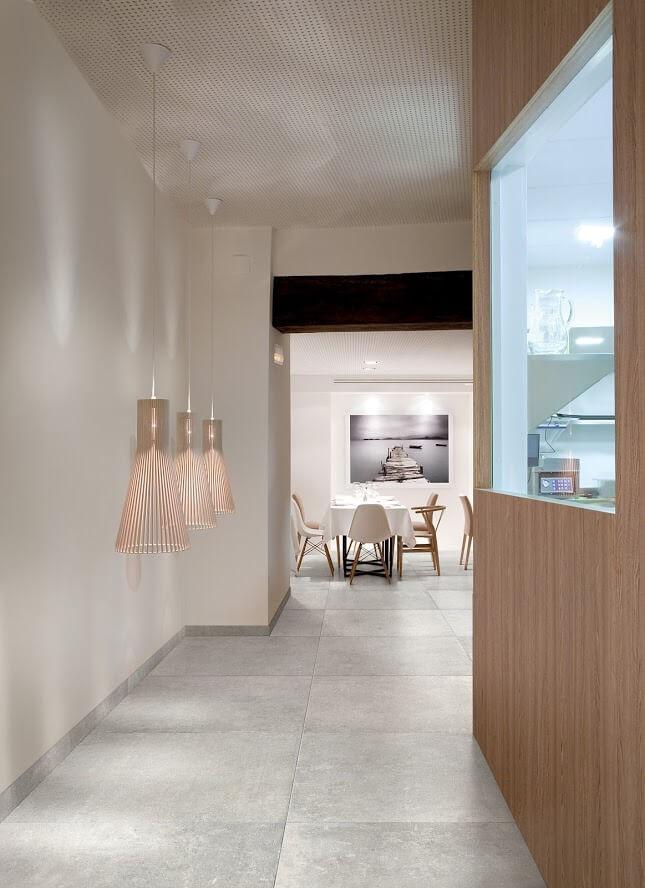 Witte Vloertegel Voor Een Licht Interieur Gilbo Tegels