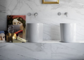 Keramische badkamertegels met marmerlook: uniek én praktisch