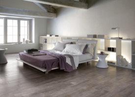 Keramische parket voor cosy slaapkamer