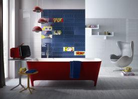Kies voor badkamertegels met kleur en start je dag fris en monter