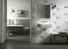 Klassieke wandtegels voor een charmante badkamer