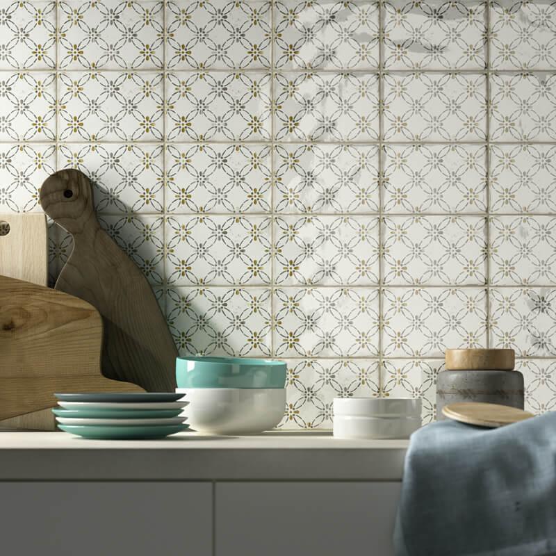 Mooie wandtegel gevonden op maat van uw keuken