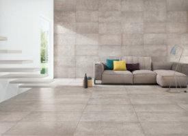 Natuursteenlook tegel voor gezellig interieur