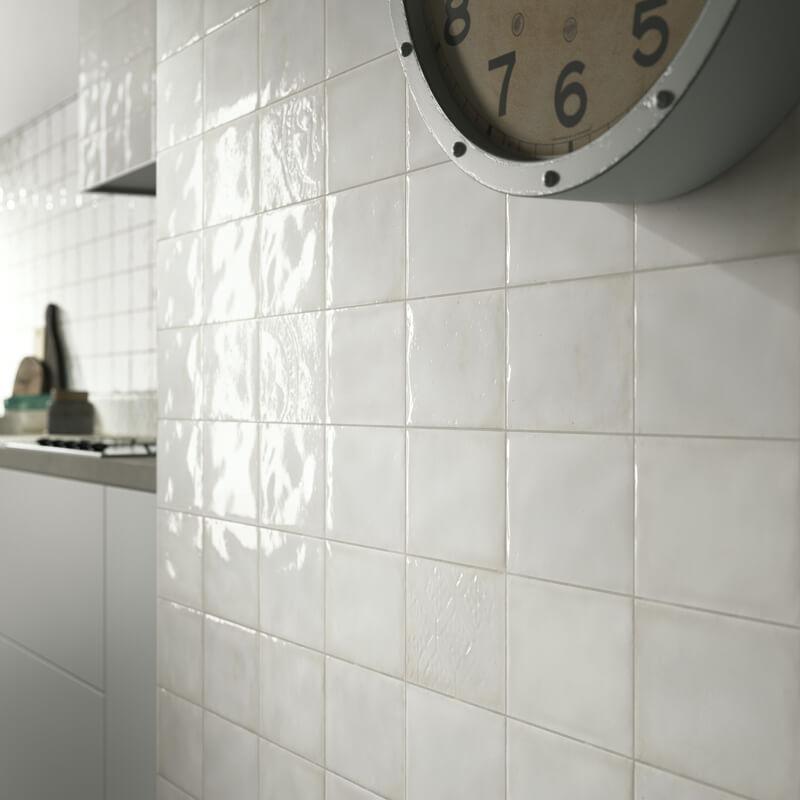Witte keuken tegels: witte keuken welke tegels met zelfde ...