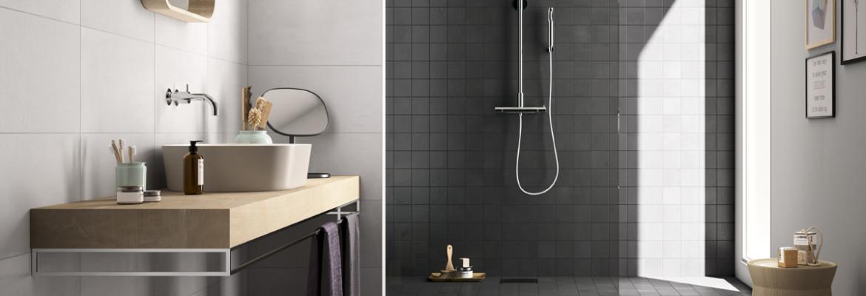Badkamer Tegels Kleur : Badkamer tegels kleuren